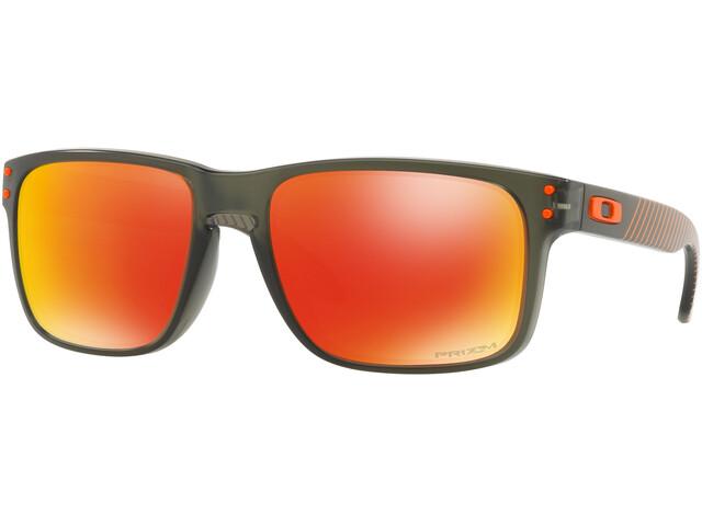 Oakley Holbrook - Lunettes cyclisme - orange/olive
